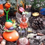 My Fairy Garden Fairy heather and veg
