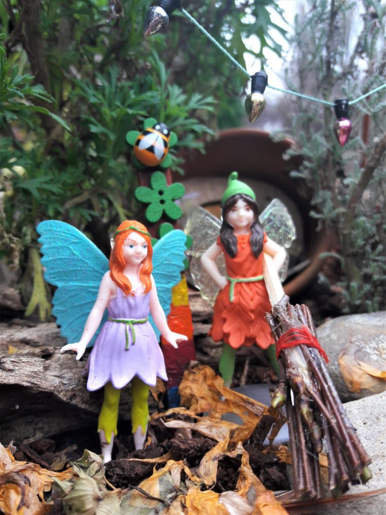 My Fairy Garden Andrena and Heather